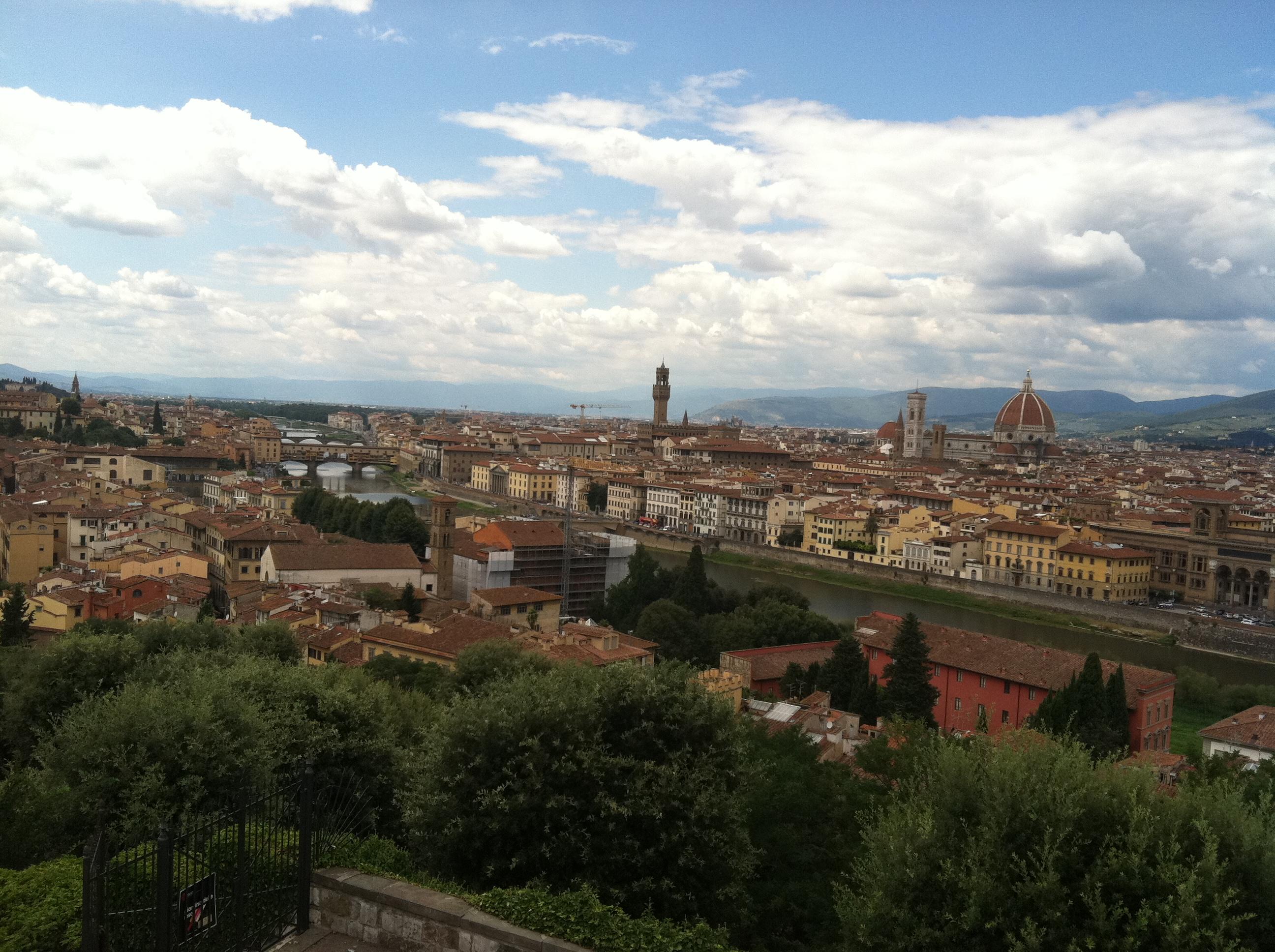 Italian Florence: The Italian Saga: My Fling With Florence