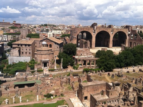 When in rome the colosseum and the palatine hill the for Argentinian cuisine palatine