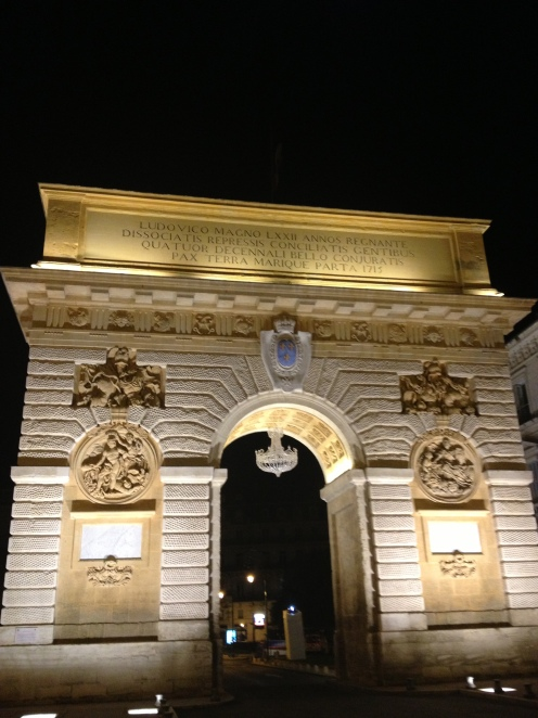 The Porte du Peyrou