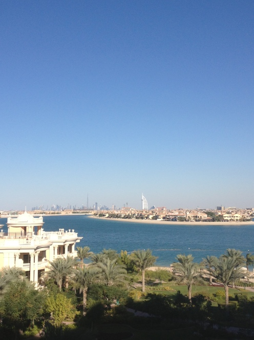 View from the Kempinski hotel