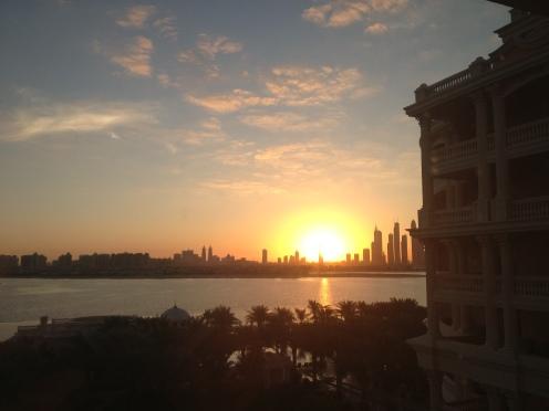Beautiful Sunrise in Dubai