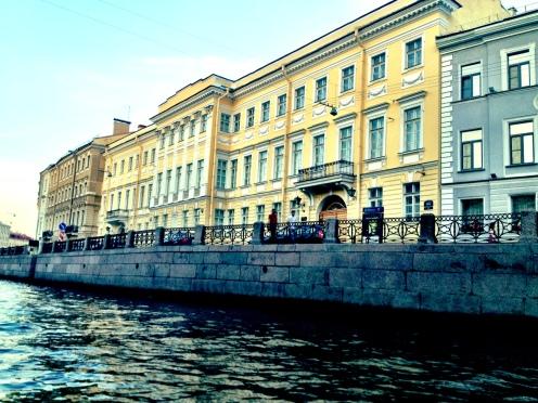 Moyka, 12 - Where Pushkin Died